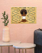 I AM  17x11 Poster poster-landscape-17x11-lifestyle-21