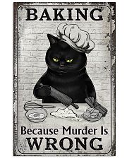 BAKING BECAUSE MURDER IS WRONG 11x17 Poster front