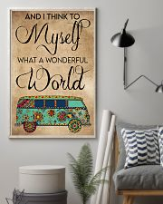 AND I THINK TO MYSELF WHAT A WONDERFUL WORLD 11x17 Poster lifestyle-poster-1