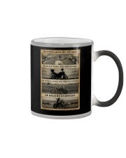 BE STRONG WHEN YOU ARE WEAK Color Changing Mug tile