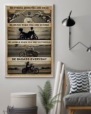 BE STRONG WHEN YOU ARE WEAK 11x17 Poster lifestyle-poster-1