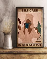 SELF CARE IS NOT SELFISH 11x17 Poster lifestyle-poster-3