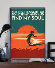 AND INTO THE OCEAN I GO TO LOSE MY MIND 11x17 Poster lifestyle-poster-2