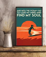 AND INTO THE OCEAN I GO TO LOSE MY MIND 11x17 Poster lifestyle-poster-3