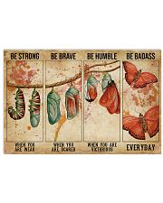 BE STRONG WHEN YOU ARE WEAK 17x11 Poster front