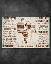 CAMPING - I CHOOSE YOU - CUSTOM NAME 17x11 Poster poster-landscape-17x11-lifestyle-12