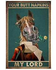 YOUR BUTT NAPKIN MY LORD 11x17 Poster front