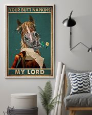 YOUR BUTT NAPKIN MY LORD 11x17 Poster lifestyle-poster-1