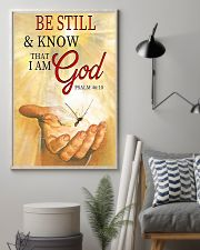 BE STILL AND KNOW THAT I AM GOD 11x17 Poster lifestyle-poster-1