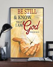 BE STILL AND KNOW THAT I AM GOD 11x17 Poster lifestyle-poster-2