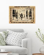 AND INTO THE FOREST I GO TO LOSE MY MIND AND FIND  24x16 Poster poster-landscape-24x16-lifestyle-01