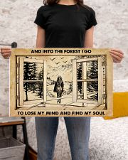 AND INTO THE FOREST I GO TO LOSE MY MIND AND FIND  24x16 Poster poster-landscape-24x16-lifestyle-20