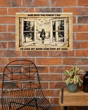 AND INTO THE FOREST I GO TO LOSE MY MIND AND FIND  24x16 Poster poster-landscape-24x16-lifestyle-24