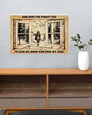 AND INTO THE FOREST I GO TO LOSE MY MIND AND FIND  24x16 Poster poster-landscape-24x16-lifestyle-25