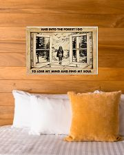 AND INTO THE FOREST I GO TO LOSE MY MIND AND FIND  24x16 Poster poster-landscape-24x16-lifestyle-27