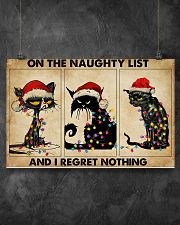 ON THE NAUGHTY LIST 17x11 Poster poster-landscape-17x11-lifestyle-12
