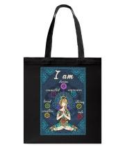I AM DEVINE Tote Bag tile