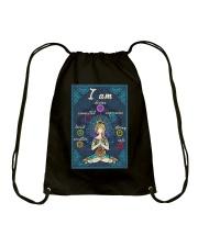 I AM DEVINE Drawstring Bag tile