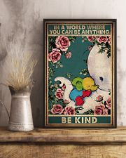 AUTISM BE KIND 11x17 Poster lifestyle-poster-3