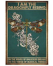 DRAGONFLY220802-hu 11x17 Poster front