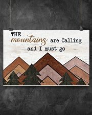 THE MOUNTAINS ARE CALLING AND I MUST GO 17x11 Poster poster-landscape-17x11-lifestyle-12