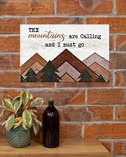 THE MOUNTAINS ARE CALLING AND I MUST GO 17x11 Poster poster-landscape-17x11-lifestyle-23