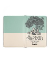 ONCE UPON A TIME - CUSTOM NAME Medium - Leather Notebook full