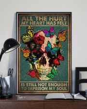 ALL THE HURT MY HEART HAS FELT 11x17 Poster lifestyle-poster-2
