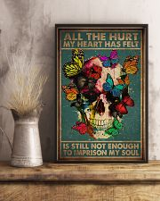 ALL THE HURT MY HEART HAS FELT 11x17 Poster lifestyle-poster-3