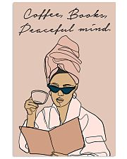 COFFEE BOOKS PEACEFUL MIND 11x17 Poster front