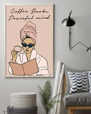 COFFEE BOOKS PEACEFUL MIND 11x17 Poster lifestyle-poster-1