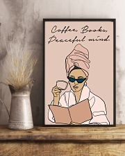 COFFEE BOOKS PEACEFUL MIND 11x17 Poster lifestyle-poster-3