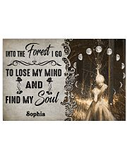 HIPPIE - INTO THE FOREST - CUSTOM NAME 24x16 Poster front