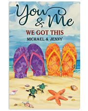 YOU AND ME WE GOT THIS - CUSTOM NAME 11x17 Poster front