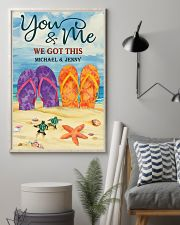YOU AND ME WE GOT THIS - CUSTOM NAME 11x17 Poster lifestyle-poster-1