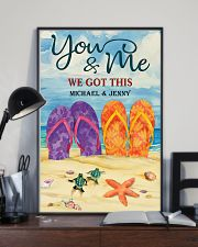 YOU AND ME WE GOT THIS - CUSTOM NAME 11x17 Poster lifestyle-poster-2