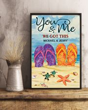 YOU AND ME WE GOT THIS - CUSTOM NAME 11x17 Poster lifestyle-poster-3