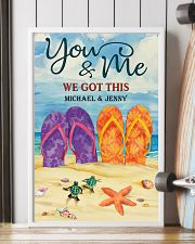 YOU AND ME WE GOT THIS - CUSTOM NAME 11x17 Poster lifestyle-poster-4