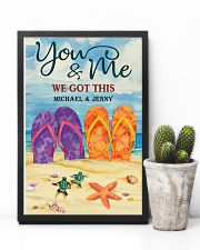 YOU AND ME WE GOT THIS - CUSTOM NAME 11x17 Poster lifestyle-poster-8