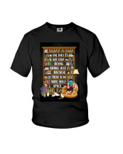 ONE DOES NOT STOP BUYING BOOKS Youth T-Shirt tile