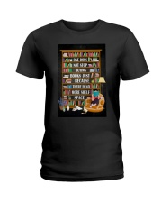 ONE DOES NOT STOP BUYING BOOKS Ladies T-Shirt tile