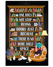 ONE DOES NOT STOP BUYING BOOKS 11x17 Poster front