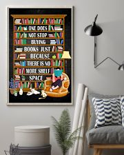 ONE DOES NOT STOP BUYING BOOKS 11x17 Poster lifestyle-poster-1