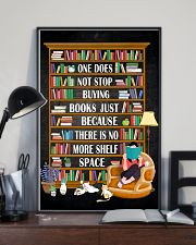 ONE DOES NOT STOP BUYING BOOKS 11x17 Poster lifestyle-poster-2