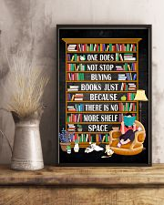 ONE DOES NOT STOP BUYING BOOKS 11x17 Poster lifestyle-poster-3