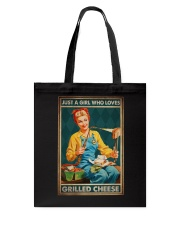 JUST A GIRL WHO LOVES GRILLED CHEEDE Tote Bag tile