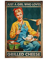JUST A GIRL WHO LOVES GRILLED CHEEDE 11x17 Poster front