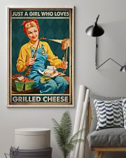 JUST A GIRL WHO LOVES GRILLED CHEEDE 11x17 Poster lifestyle-poster-1