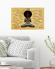 YOGA AFRO - I AM  24x16 Poster poster-landscape-24x16-lifestyle-01