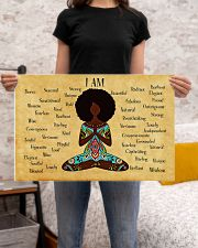 YOGA AFRO - I AM  24x16 Poster poster-landscape-24x16-lifestyle-20